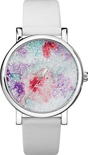 Timex Reloj Analógico para Unisex Adultos de Automático con Correa en Cuero TW2R66500