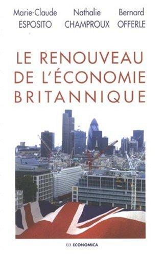 Le renouveau de l'économie britannique