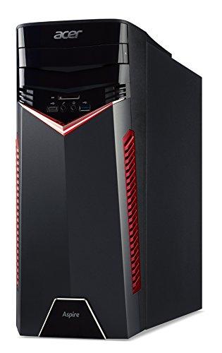 Acer Aspire GX-281 3.2GHz 1400 AMD Ryzen 5 Negro PC - Ordenador de sobremesa (3,2 GHz, AMD Ryzen 5, 8 GB, 1000 GB, DVD Super Multi DL, Windows 10 Home)