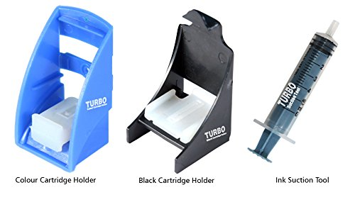Turbo cartridge Head Cleaning Kit/Ink Suction Tool Compatible for HP 680/803 Cartridges