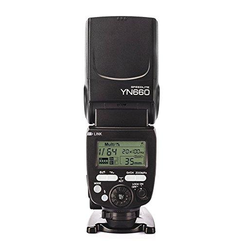 elegantstunning 2,4 GHz Blitz-Speedlite Funk-Transceiver für Canon Nikon Pentax Olympus DSLR-Kameras mit WINGONEER Blitz-Diffusor