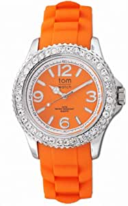 tom watch Damen-Armbanduhr XL Analog Silikon WA00017