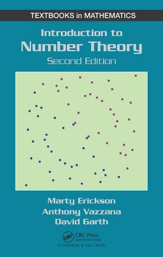 Introduction to Number Theory, 2nd Edition (Textbooks in Mathematics) by Anthony Vazzana (2015-12-01)