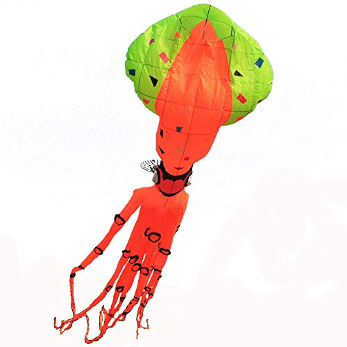 Weiche Oktopus Drachen Nicht Zum Fliegen Alleine Geeignet Große Weiche Oktopus Drachen (Farbe : Orange)