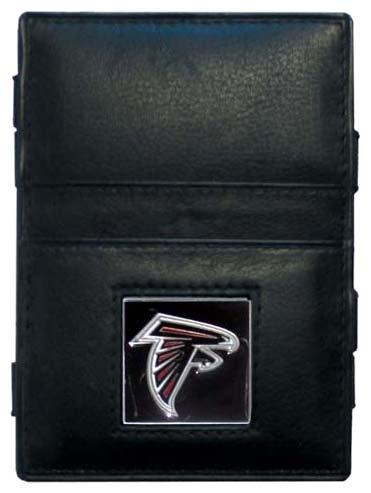 Siskiyou NFL Jacob's Ladder Geldbörse Leder, Damen, Atlanta Falcons (Atlanta Falcons Football Karten)