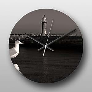 Horloge murale Seagull bord de mer