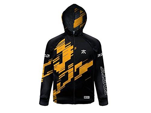 Veste à capuche Fnatic de joueur 2018 (réflective, esport) - L