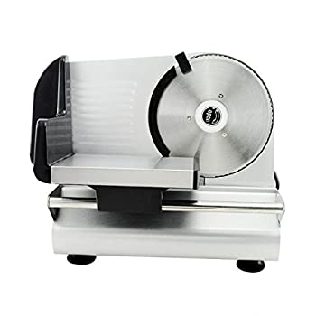 "Denshine 7.5"" Electric Stainless Steel Precision Food Slicer Meat Slicer Blade Machine For Commercial Restaurant Home Use 1"