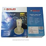 SOLID CB1-17K C-Band Satellite Dish Antenna PLL Single Output LNBF - by BigMarginStore