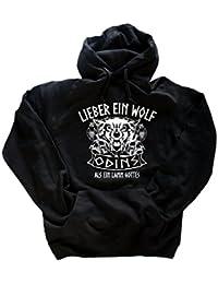 Viking-Shirts Lieber ein Wolf Odins als ein Lamm Gottes Walhalla Wikinger Germanen T-Shirt