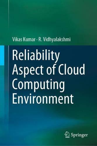 Reliability Aspect of Cloud Computing Environment (Zertifizierung Simulation)
