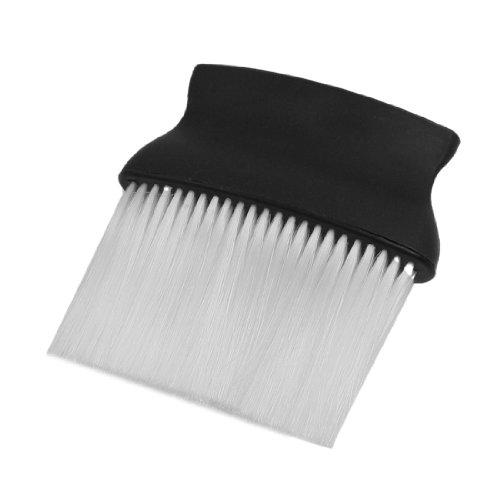 Sourcingmap Brosse de coiffeur Noir/blanc