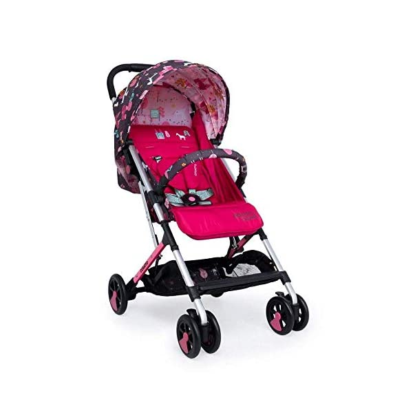 Cosatto Unicorn Land Matching Bundle Set Cosatto Suitable from birth to max weight of 25kg, lets your toddler use it for even longer Custom-crafted to fit your pushchair ideally Make a Change with our changing bag 2