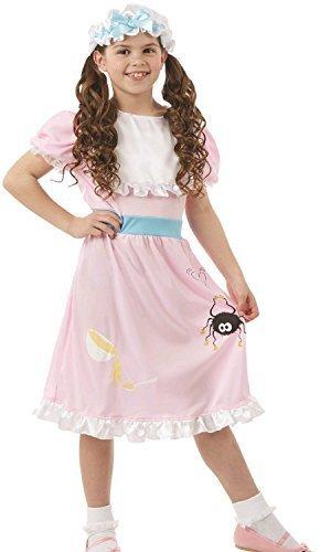 Fancy Me Mädchen Kleine Miss Muffet Welttag des Buches-Tage-Woche Kinderzimmer Reim Märchen Kostüm Kleid Outfit - 4-6 Years