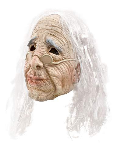 Bristol Novelty BM236 Alte Frau Maske, Beige, Unisex- Erwachsene, Einheitsgröße