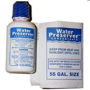 55 Gallon Water Preserver Concentrate 5 Year Emergency Disaster Preparedness, Survival Kits, Emergency Water Storage, Earthquake, Hurricane, Safety by Survival Kits Online