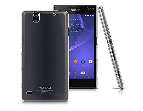 Heartly Imak Crystal Clear Hot Transparent Thin Hard Best Back Case Cover For Sony Xperia C4 E5303 E5306 E5353  available at amazon for Rs.299