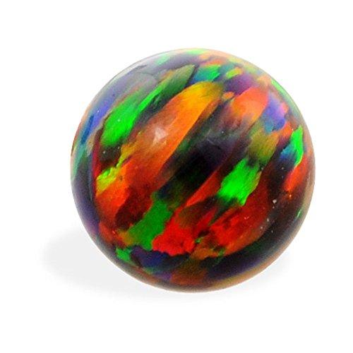 Opal Schraube Ersatz Ball, Gauge: 18(1.0mm), Opal Größe: 5