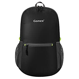 Gonex 20L Packable Backpack for Men Women Foldable Carry on Camping Outdoor Cycling School 17