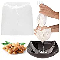 """The Amazing Nut Milk Bag /3 Packs Large (12""""x10"""") Strong Reusable Food Grade Cheesecloth