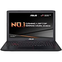 ASUS ROG GL552VW-DM201T 15.6 inch FHD Gaming Laptop (Intel i7-6700HQ, 8 GB RAM, 256 GB SSD + 1 TB 7200 rpm Storage Drive, NVIDIA GTX960M 2 GB GDDR5 Graphics, Windows 10, Headset and Mouse)