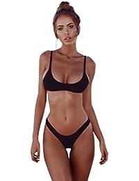7e372dfb77f376 OverDose Frauen Push-up Gepolsterte BH Bandage Bikini Sets Damen Badeanzug  Bademode