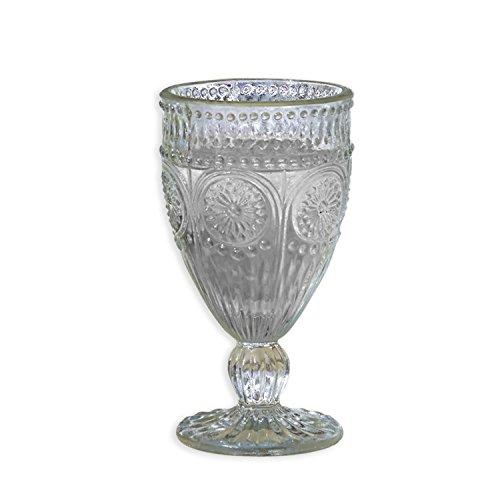 Loberon Gläser 6er Set Leatrice, Glas, H/Ø ca. 16/9 cm, klar