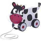 Tachan - Vaca madera con ruedas (CPA Toy Group B109)