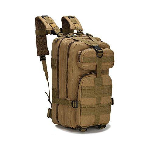Taktische Schulter Outdoor Bergsteigen Tasche Military Camping Rucksack Outdoor Sport Rucksack mud color