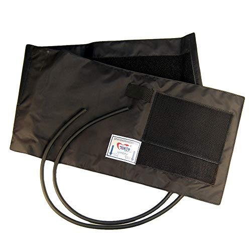 Große Blutdruck-2-Schlauchmanschette für Erwachsene, Blutdruckmessgerät, Doppelschlauch, 40,6cm bis 66cm Manschette, von Valuemed