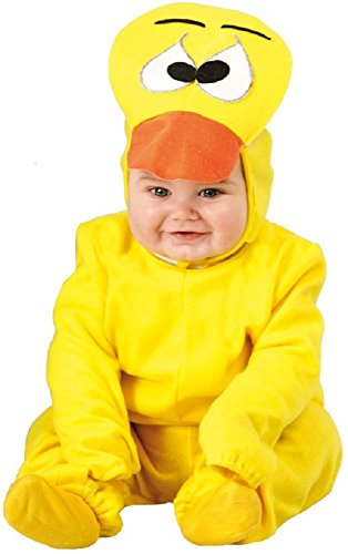 Baby girls boys giallo canarino uccello animal halloween carnevale party costume travestimento