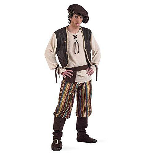 Limit Sport mittelalterlichen Wirt-Kostüm für Erwachsene, Gr. XL - Für Erwachsenen Mittelalter Mann Kostüm