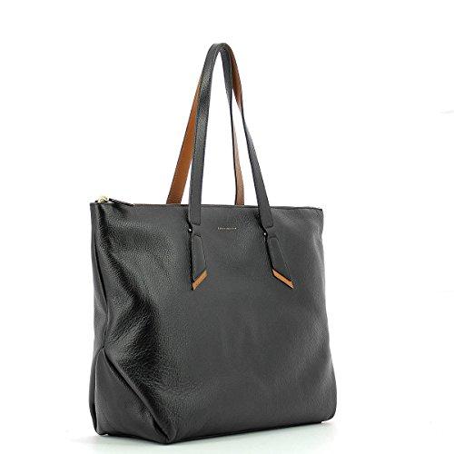 Schultertasche Schultertasche leather schwarz in in schwarz RU4Hqq