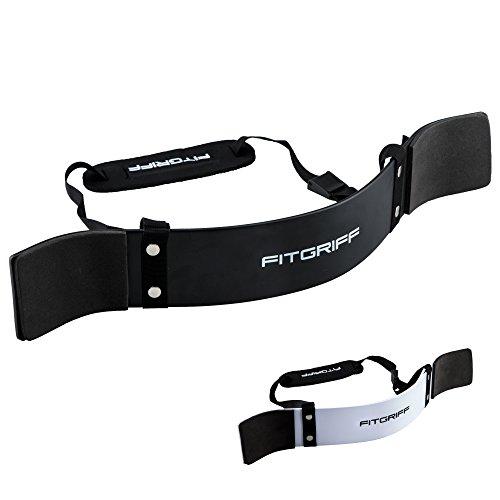 Fitgriff® Arm Blaster - Bizeps Isolator für Bodybuilding, Kraftsport & Gewichtheben - Bizepstrainer (Blaster)