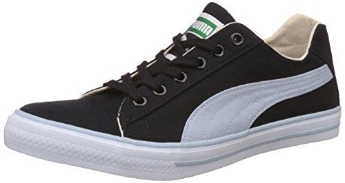 Puma Unisex Hip Hop 5 Dp Puma Black and Blue Fog Sneakers - 12 UK/India (47 EU)