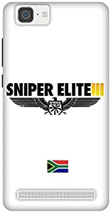 The Racoon Lean The Sniper's of Africa hard plastic printed back case / cover for Vivo X5 Max
