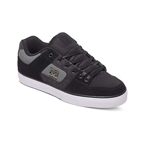 DC Skateboard Shoes PURE SE BLACK DESTROY WASH