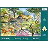 Big 500 Piece Jigsaw Puzzle Country Living. Picturesque Village Scene