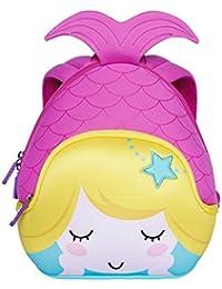 Alnaue Toddler Kids Pre School Bag Cute Mermaid Cartoon Children School Backpack
