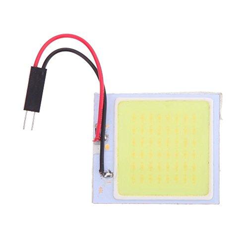 Starnearby COB 48 SMD Puce Super blanc lampe de lecture 12 V CW LED dôme ampoule LED de voiture