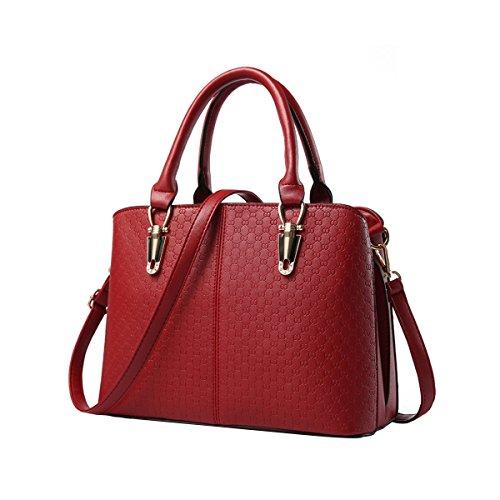 emotionlin-frauen-damen-handtaschen-faux-designer-shopper-schultertaschen-tote-bag-red
