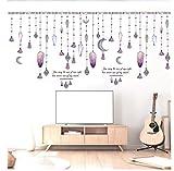 ZBYLL Wall Sticker Raupe Vorhang Zubehör Veranda Wohnzimmer Studie Schlafzimmer kleiderschrank Dekoration
