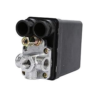 Heavy Duty 240V 16A Auto Control Auto Load/Unload-Luftverdichter Druckschalter-Steuerventil 90 PSI -120 PSI