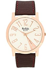 RELISH RE-S8074CB Copper Slim Analog Watches For Men's And Boy's