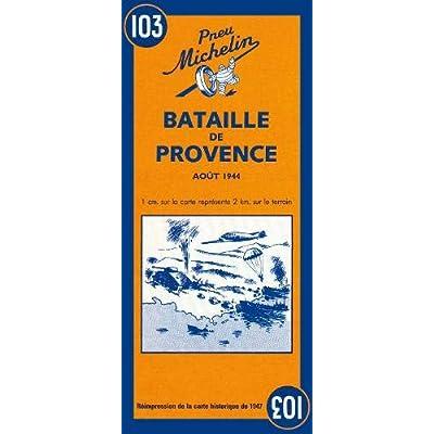 Carte Bataille de Provence aout 1944