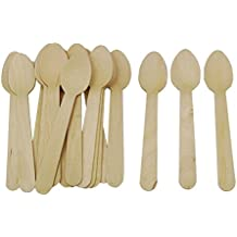 Prakritii cultivating green wooden spoon (5.5 inches) pack of 100
