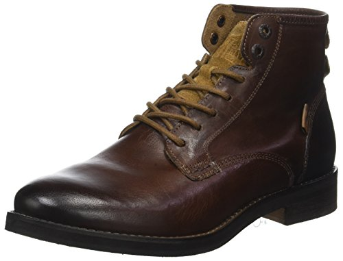 Levi's Herren Baldwin Kurzschaft Stiefel, Braun (Medium Brown), 43 EU (Stiefel Medium Heel)