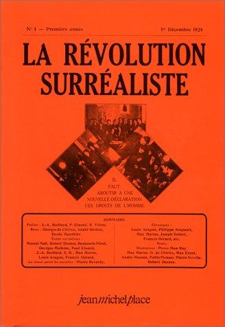 La Révolution surréaliste (1924-1929)