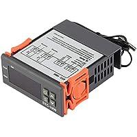 Controlador de STC-1000 Profesional AC DC 12V / 24V Dos relé de salida digital de temperatura del termostato -50~99 grados con el sensor