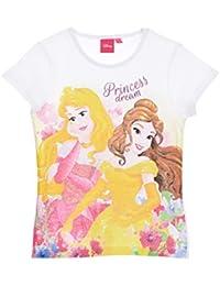 4fd1688d4 Les Princesses Disney - Camiseta de Manga Corta - Manga Corta - para niña